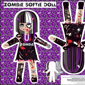 Creepy, but yet sweet zombie doll