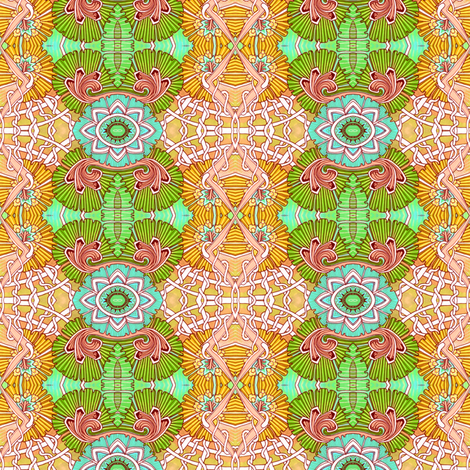 When Macrame Took Over the World fabric by edsel2084 on Spoonflower - custom fabric