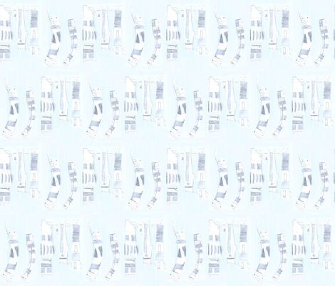 lightsaber_repeat fabric by jeffee on Spoonflower - custom fabric
