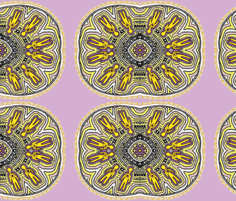 Moving_Shadows_edited purple and yellow_trinity-ch-ch fabric by g-mana on Spoonflower - custom fabric