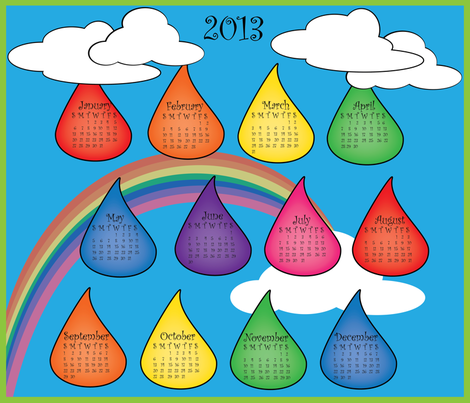 2013 fabric by lerhyan on Spoonflower - custom fabric