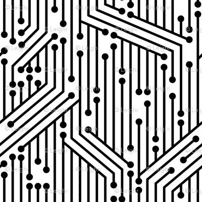 Printed Circuit Board (B&W)