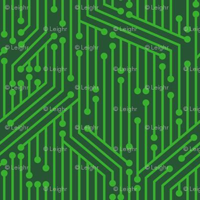 Printed Circuit Board (Green)