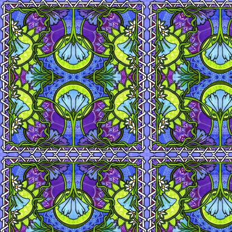 After Midnight fabric by edsel2084 on Spoonflower - custom fabric
