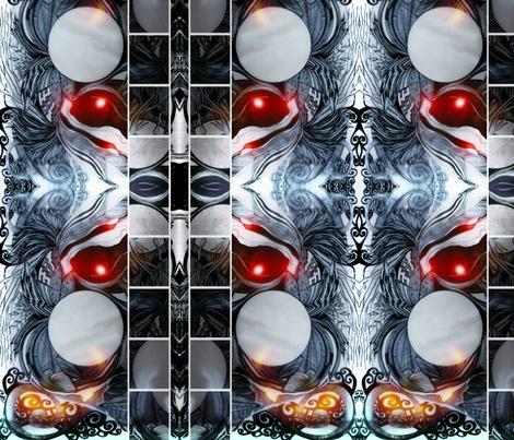 DRAGON-EYE fabric by lamaihi on Spoonflower - custom fabric