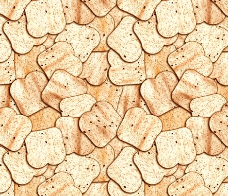 Got Toast? fabric by bonnie_phantasm on Spoonflower - custom fabric