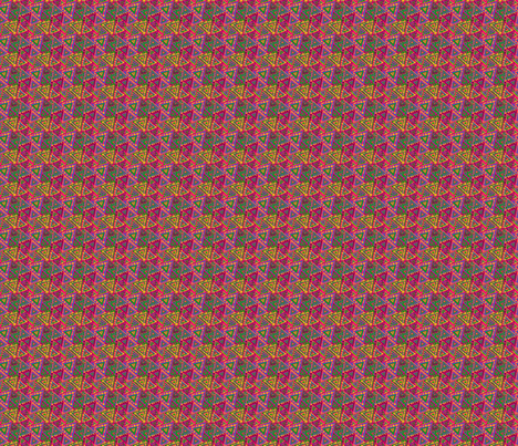 Triangle du Pérou fabric by manureva on Spoonflower - custom fabric