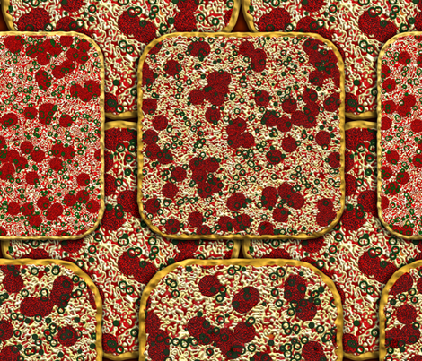 Got Pizza? fabric by bonnie_phantasm on Spoonflower - custom fabric