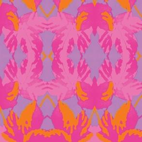Magenta Maple Leaf