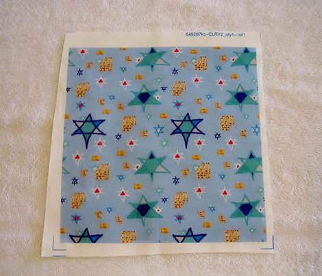 Coordinating Matzo Fabric for the Jewish Holidays