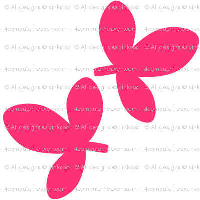 Fall'n For Pink! - Leafy Pink! - © PinkSodaPop 4ComputerHeaven.com