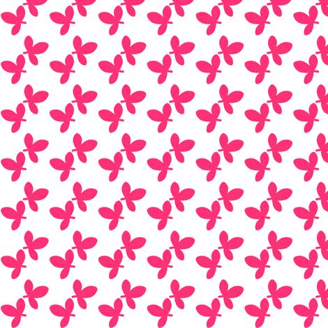 Fall'n For Pink! - Leafy Pink! - © PinkSodaPop 4ComputerHeaven.com fabric by pinksodapop on Spoonflower - custom fabric