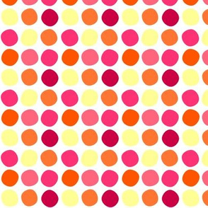 Fall'n For Pink! - Multi Dots - © PinkSodaPop 4ComputerHeaven.com