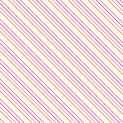 Fall'n For Pink! - Diagonal Skinny Stripes - © PinkSodaPop 4ComputerHeaven.com fabric by pinksodapop on Spoonflower - custom fabric