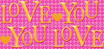 LOVE YOU cactus pink