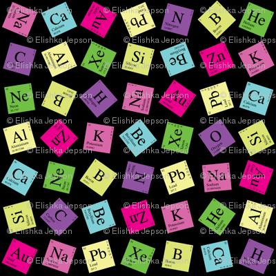 Topsy Turvey Periodic (Dark Retro)