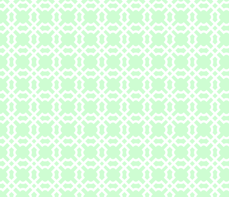 Geo Tile Sweet Pea fabric by winterdesign on Spoonflower - custom fabric
