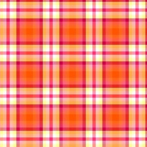 Fall'n For Pink! - Orange Plaid - © PinkSodaPop 4ComputerHeaven.com