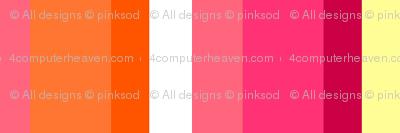 Fall'n For Pink! - Teeny Stripes - © PinkSodaPop 4ComputerHeaven.com