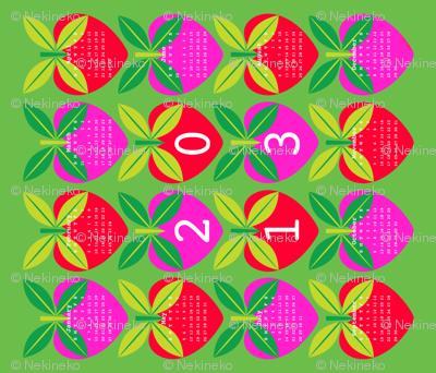 Love Apple 2013 Calendar