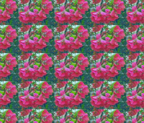 Crabapple Blossoms fabric by anniedeb on Spoonflower - custom fabric