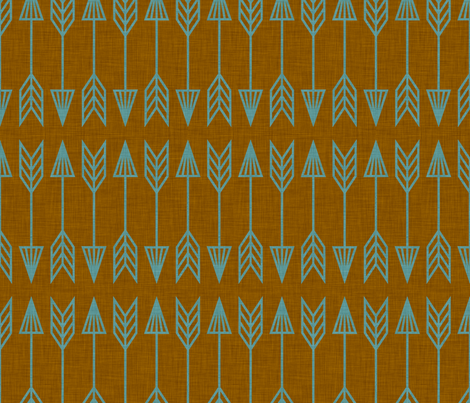 arrows_marin fabric by holli_zollinger on Spoonflower - custom fabric