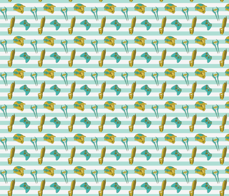 Halo - Fresh fabric by girlhero on Spoonflower - custom fabric
