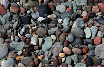 Colorful, Repeating Beach Stones