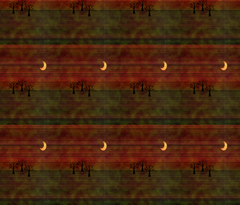 Autum_Night_Fabric fabric by kickyc on Spoonflower - custom fabric