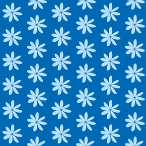 daisy dark blue