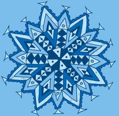 mandala star blues