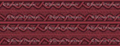 Palpatine Burgundy - Geometric