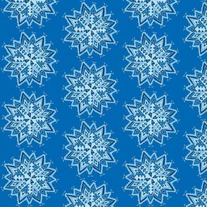 mandala star blues dark