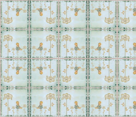 Paper Wild Flowers fabric by laurabotsford on Spoonflower - custom fabric