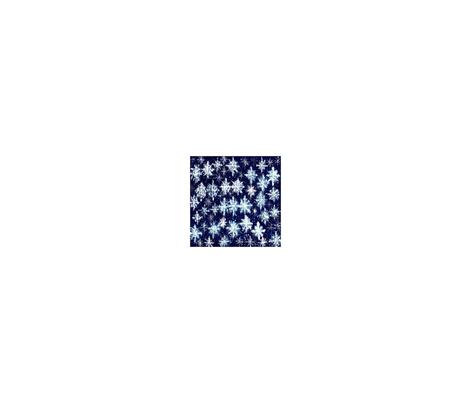 SnowflakesNapkin fabric by cathysteele on Spoonflower - custom fabric