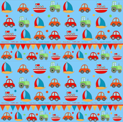 TrafficJamPattern fabric by bipbop on Spoonflower - custom fabric