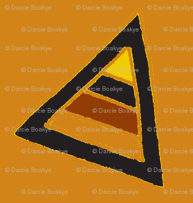 earthy triangles brown