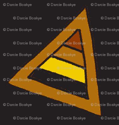 earthy triangles black