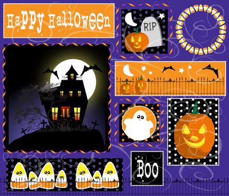 Halloween fabric by bbsforbabies on Spoonflower - custom fabric