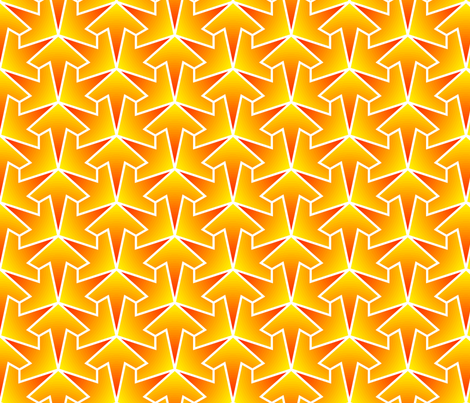 arrow 3 gradient fabric by sef on Spoonflower - custom fabric