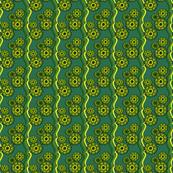 Green Grasshopper Ribbons