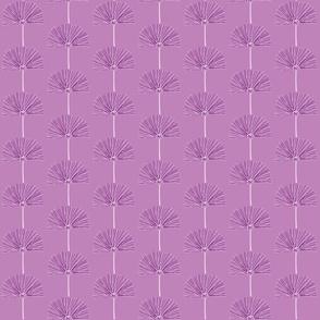 purple pouf light