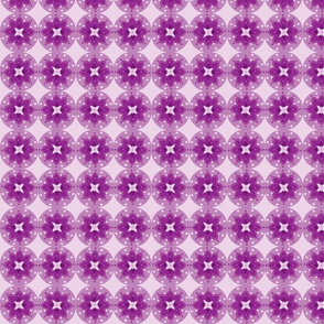 flori circles dark purple