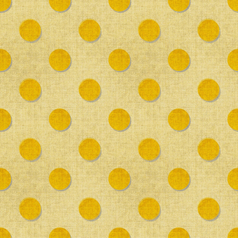 Gold Dots textured fabric by joanmclemore on Spoonflower - custom fabric