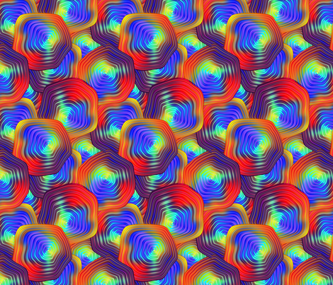 Glassworks fabric by glimmericks on Spoonflower - custom fabric