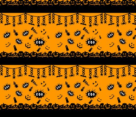 Citrouilles fabric by manureva on Spoonflower - custom fabric
