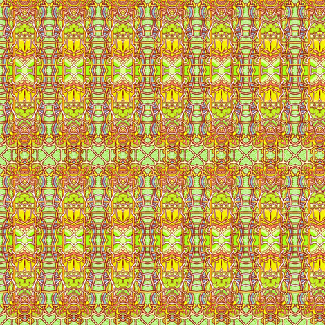 Going For the Gold fabric by edsel2084 on Spoonflower - custom fabric