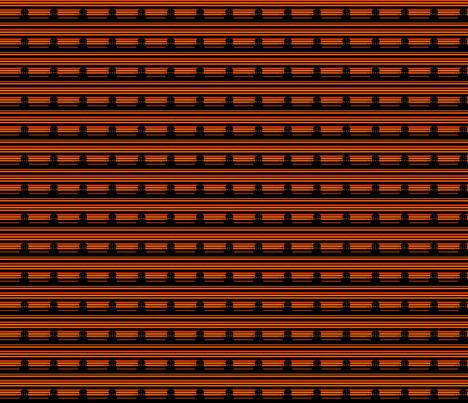 Pointillés Halloween-Maison hantée fabric by manureva on Spoonflower - custom fabric