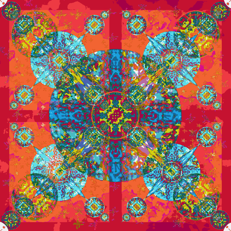 medallion 4 fabric by dana_zurzolo on Spoonflower - custom fabric