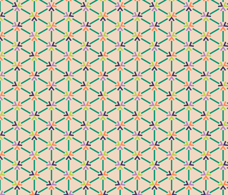Geo Arrows fabric by modgeek on Spoonflower - custom fabric